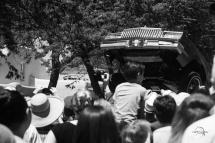 Low rider parade, Santa Fe, NM - Hydrolic demonstration