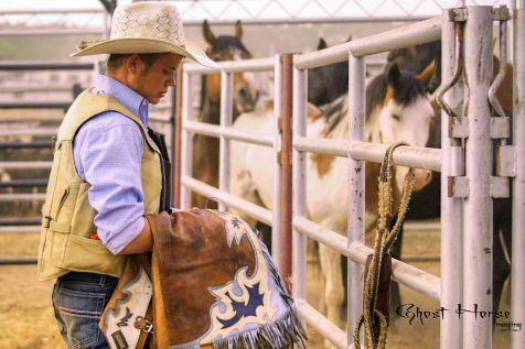 Bull Rider - Rodeo de Santa Fe