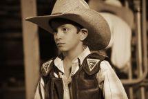 Jr. Bull Rider-Rodeo de Santa Fe