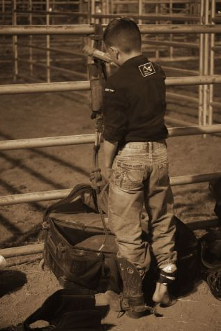 Junior Bull Rider-injured at Rodeo de Santa Fe