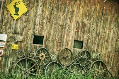 La Plata County Colorado barn