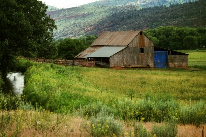 La Plata County Colorado barn